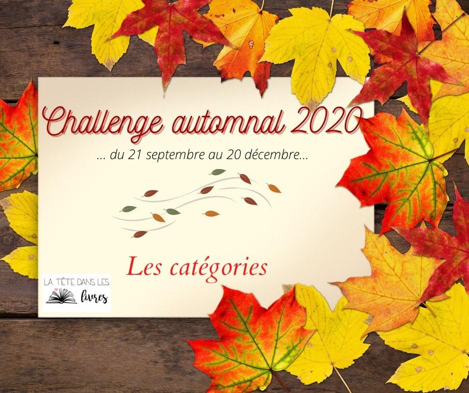 challenge littéraire d'automne