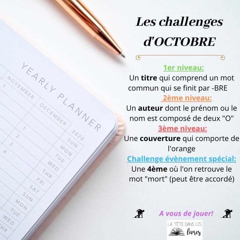 challenge octobre