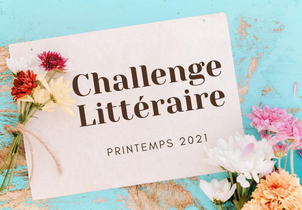 challenge littéraire printemps